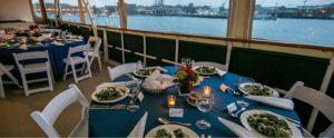 salads on table