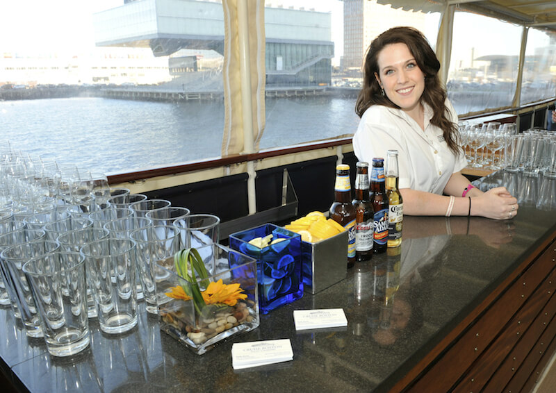 bartender on board ship