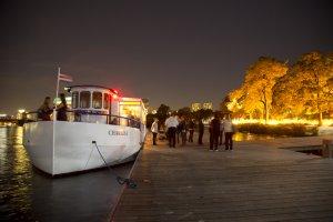charles riverboat company's charles i docked