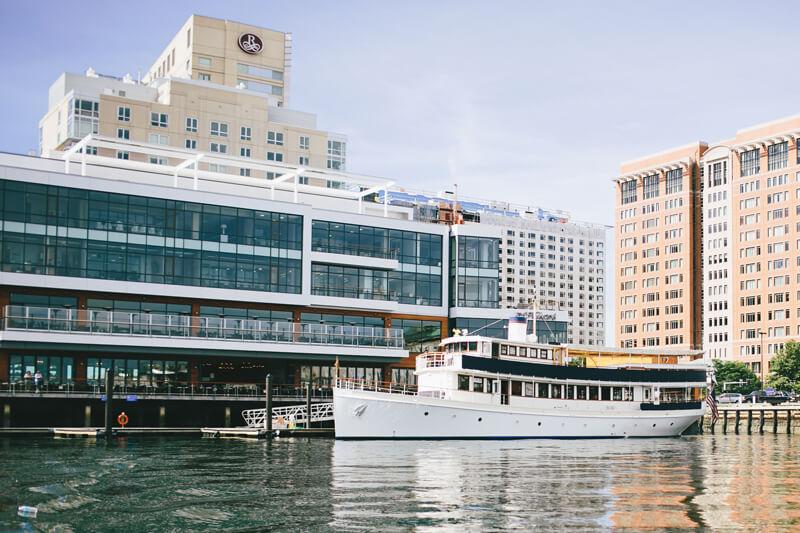charles riverboat vessel docked