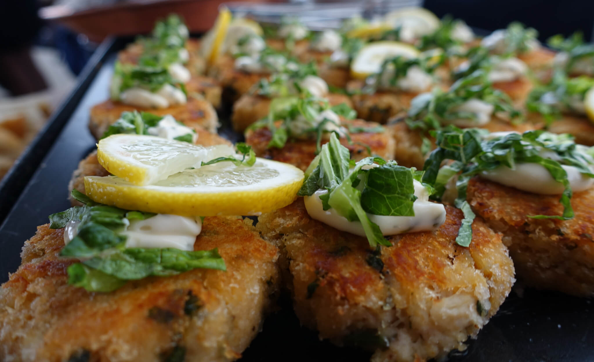 breaded chicken with lemon
