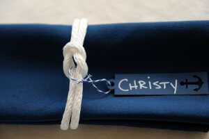personalized napkin placeholder