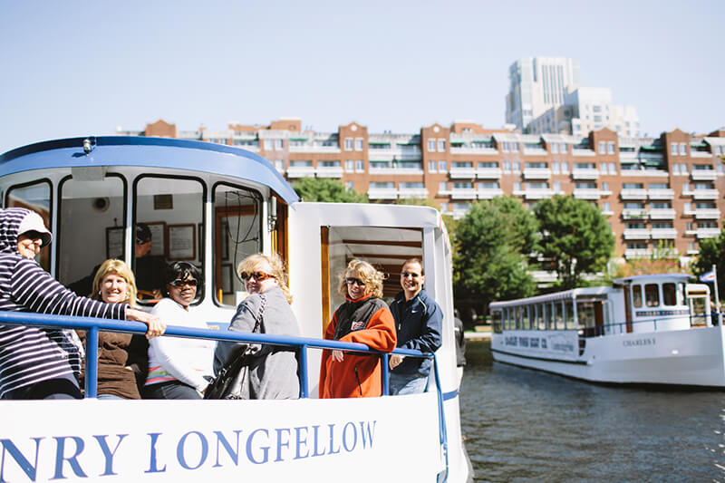 tourists on board the henry longfellow vessel