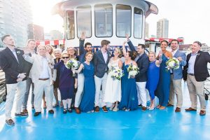 Boat Wedding Party