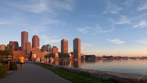 Fan Pier Waterfront